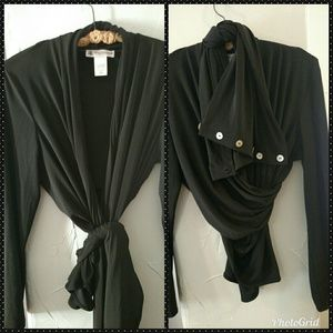 👗💝Women' Black Infinity Wrap by Sure Couture💝👗